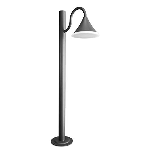 CLGarden LED buitenstaande lamp ASL6 antraciet tuinlantaarn moderne lantaarn metaal buiten groot