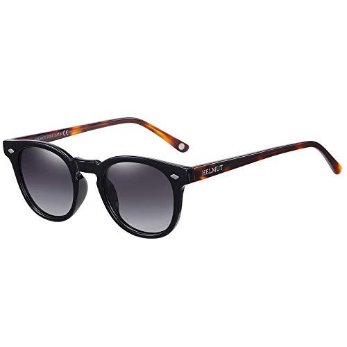 Occhiali da Sole da Uomo Donna Polarizzati Vintage Stile Depp Unisex Tr90 e Acetato