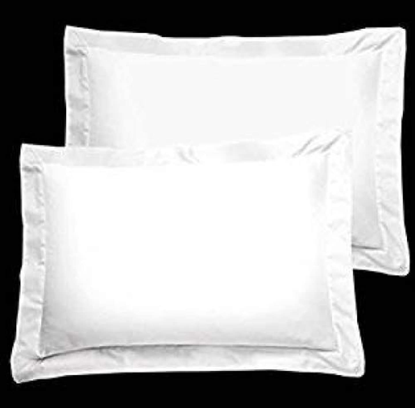 Bedify Collection American Size Set of 2pcs Pillow Case 400 Thread Count Queen/King 20x30