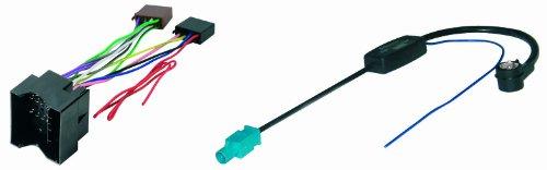 Phonocar 4/776 Kit câbles pour autoradio et antenne Citroën/Peugeot Multicolore