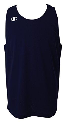 [チャンピオン] タンクトップ ワンポイントロゴ リバーシブルタンクトップ バスケットボール REVERSIBLE CBR2300 メンズ ネービー M