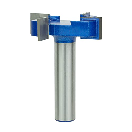 """Sabre Tools CNC Spoilboard Surfacing Router bit Planer for Slab Flattening and Planing (1/2"""" S, 2"""" D, 1/2"""" H)"""