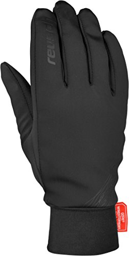 Reusch Handschuhe Leo WINDSTOPPER Black, 9