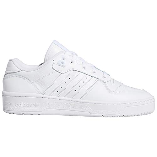 adidas Rivalry Low Blanco. Zapatillas Deportivas de Moda para Hombre. Tenis (42 EU, White/White)