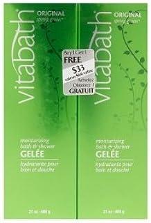 Vitabath Moisturizing Bath & Shower Gelee Buy One, Get One Free Bonus Pack Original, Spring Green, 1 Ea