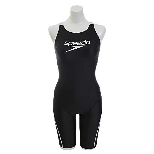 Speedo(スピード)フィットネス水着レディーススパッツスーツスタックロゴフレックスシグマ2エクササイズSD58N52ホワイトWM