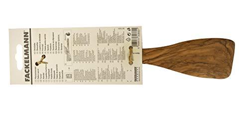 Fackelmann Pfannenwender 30 cm OLIVE, Wender aus Holz, Design- Küchenhelfer aus Oliven-Holz, robust und mit unverkennbarer Maserung (Farbe: Braun), Menge: 1 Stück - 3
