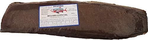 Mojama trockener Thunfisch, Stück von 1 kg. Der Schinken des Meeres