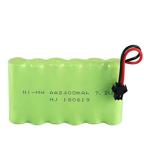 Grehod 2400mah 7.2v batería Recargable 7.2v AA batería 7.2v para camión Cisterna...