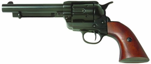 Denix Old West Frontier Replica Revolver Non Firing Gun, Black