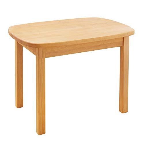 BioKinder 24784 Levin Kindertisch Spieltisch Tisch für Kinder aus Massivholz Erle 75 x 54 x 53 cm