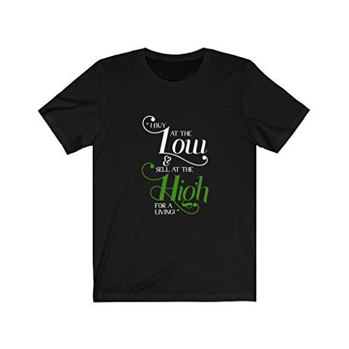 Esprimi il tuo amore regali regalo per il commerciante, Acquista Low Sell High Trader Tshirt - - XX-Large