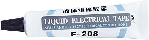 Liquid Insulation Electrical Tape, Waterproof Anti-UV Data Cable Repair, High Temperature Flame Retardant Glue for Electrical