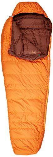 VAUDE Schlafsack Marwees 500 DWN, warmer und vielseitiger Daunenschalfsack, Mumienschnitt, orange madder, one Size, 129669820010
