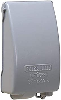 TayMac Weatherproof Metallic Low Profile While-In-Use Device Cover