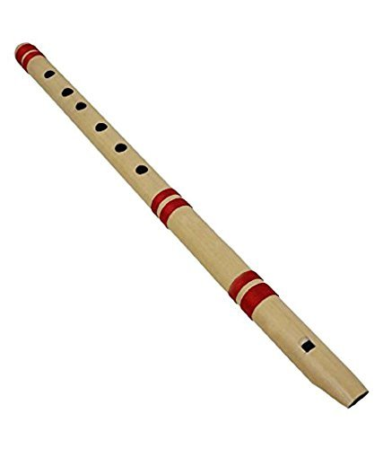 Ekam Musical Handmade Bansuri Bamboo Flute b tune (36 cm)