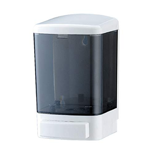 Dispensador de jabón manual montado en la pared champú acondicionador gel de ducha baño cocina 1000 ml