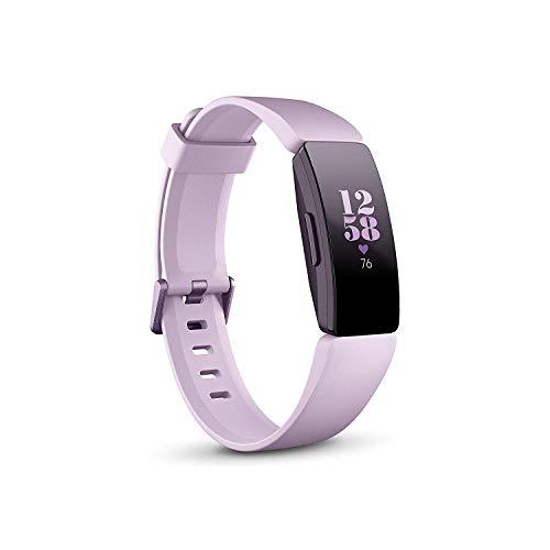 Fitbit Inspire HR, Pulsera de salud y actividad física con ritmo cardiaco, Lila