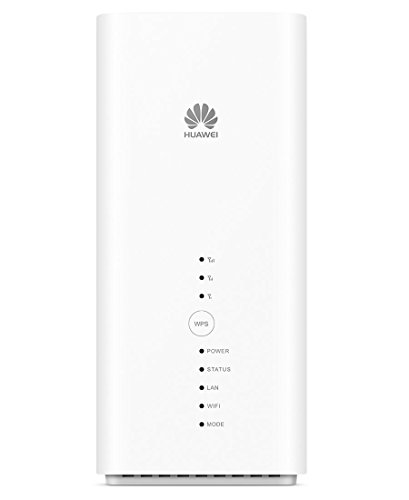 Huawei B618s-22d Bianco Router 4G+ LTE Advanced Categoria 11 600 Mbps Gigabit WiFi AC 2 x TS9 per Antenna Esterna
