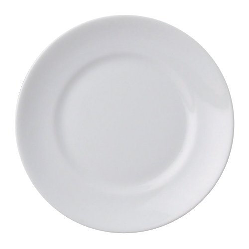 Hic Obstschale aus Porzellan, 170 ml Brot und Butter-Teller, 15,2 cm Bread and Butter Plate blau