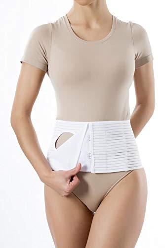 Stomagürtel 16 Hoch Stomabandage Abdominalstütze Bauchbandage Stoma (L Ihre Taillenumfang (cm) 101-110)