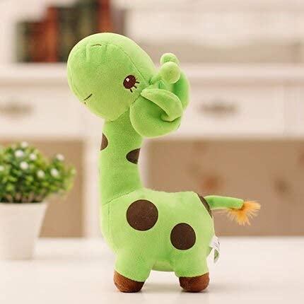 XINQ 18 cm Unisex Plüsch Giraffe Soft Toy Tier Liebe Puppe Baby Kind Kind Weihnachten Geburtstag Happy Bunte Geschenke B (Color : C)