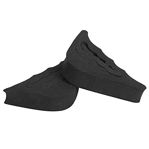 Skin-Friendly Practical Toe Insert for Boots Brand New(Black)