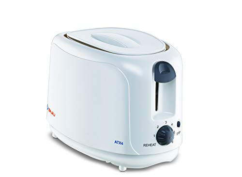 Bajaj ATX 4 750-Watt Pop-up Toaster (White)