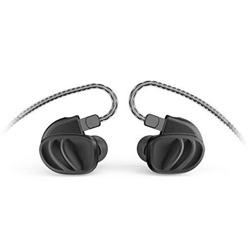 BQEYZ KC2 Quad Drivers Earphones HiFi Stereo Headset Noise Isolating with Detachable Cable