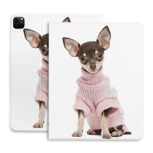 Lindo pequeño chihuahua cachorro perro Tablets caso para iPad Pro Carcasas pro con lápiz titular compatible con iPad 2020 pro 11 12.9 pulgadas