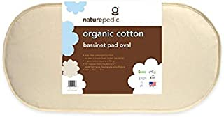 Naturepedic Organic Cotton Bassinet Mattress (Oval - 14