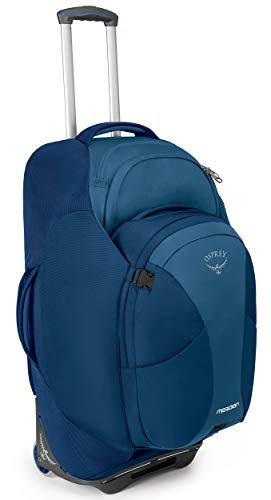 Osprey Packs Meridian 75L/28 Wheeled Luggage, Lagoon Blue