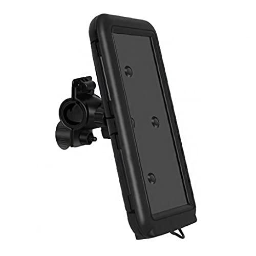 NiceJoy Soporte de Montaje del teléfono de la Bicicleta Pantalla táctil Bolsa de Soporte Impermeable para 6.8 Pulgadas Smartphone Negro