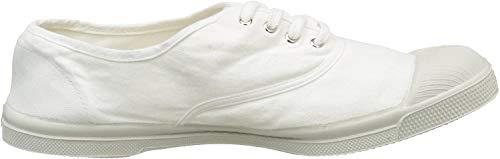 Bensimon Tennis Lacet Homme, Scarpe da Ginnastica Basse Uomo, Bianco (Blanc), 42 EU