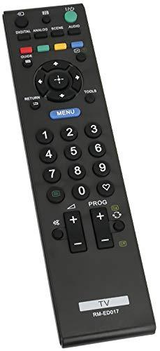 ALLIMITY RM-ED017 Reemplazo de Mando a Distancia para Sony Bravia TV KDL-19S5730 KDL-22S5500 KDL-32P5550 KDL-32S5500 KDL-32S5600 KDL-32S5650 KDL-40P3600 KDL-40S5500 KDL-40S5650