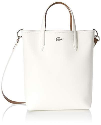 Lacoste Anna Vertical Shopping Tote Bag, bali/Grey Wash-White