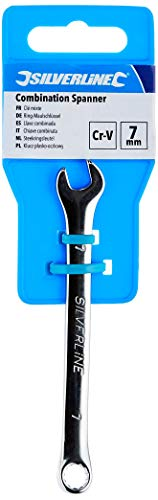 Silverline LS07 Combination Spanner, 7 mm