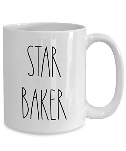 Taza Mug Tazas Taza Star Baker Taza de Navidad para hornear Baker_s Gift Show Inspiredinspired Large 330ml