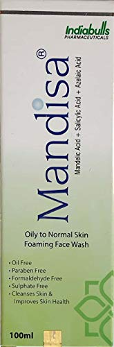my skin Mandisa Oil and Paraben-Free Acne-control Foaming Face Wash (100ml)