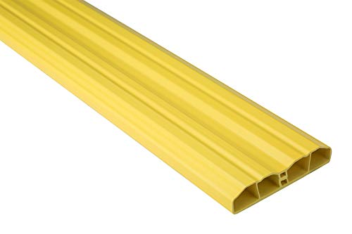 Zaunlatten Sparpaket PZL-17 | widerstandsfähiges Hart-PVC | Kunststoffzaun | Balkonbretter | pflegeleicht | gelb bunt | 80 x 16 mm | Hexim | 100 Meter