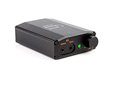 iFi Nano iDSD Black Label Portable USB DAC and Headphone Amplifier With MQA and DSD. Use With Smartphones / Digital Audio Players / Tablets / Laptops - Headphone Upgrade from Abbingdon Music Research