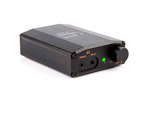 iFi Nano iDSD Black Label Portable USB DAC and Headphone Amplifier - Upgrade Smartphones/Digital Audio Players/Tablets/Laptops
