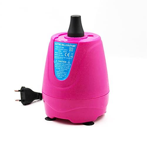 DUBILE Inflador EléCtrico De Globos 22 0V 300W Globo de Aire eléctrico Bomba de Aire soplador de Aire Globo portátil para decoración de Fiesta más rápido y ahorre Tiempo (Color : 2)