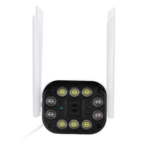Visión nocturna en exteriores a todo color Conexión de red de gran angular en tiempo real Cámara tipo bala Conexión de varios dispositivos con 4 antenas para reconocimiento de campo(1080P)