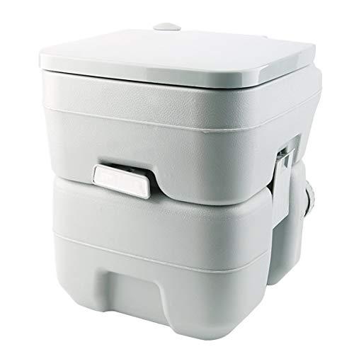 FHJZXDGHNXFGH Tragbare Camping Toilette Loo Caravan Flush Travel Indoor Outdoor Wandern Bootfahren Töpfchen Kommode Abnehmbare Toilette