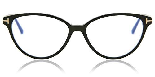 Tom Ford FT5545-B Black/Clear Lens Eyeglasses, 53-14-140