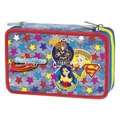 DC SUPER HERO GIRLS GIRL POWER ASTUCCIO 3 ZIP