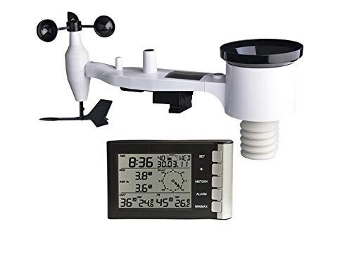 Froggit WH5300 SE (Version 2018) 868 MHz, mástil Incluye Sensor inalámbrico impermeable (Lluvia, Wind)