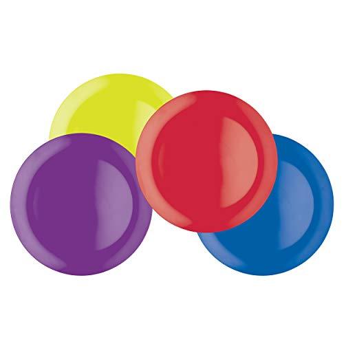 Colourworks CWMPLATE11ASSTPK4 - Vajilla, Multicolor