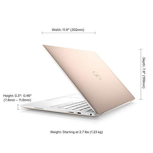 DELL XPS 9380 13.3-inch Laptop (8th Gen Core i7-8565U/16GB/512GB SSD/Windows 10 Home/Intel HD Graphics), Gold